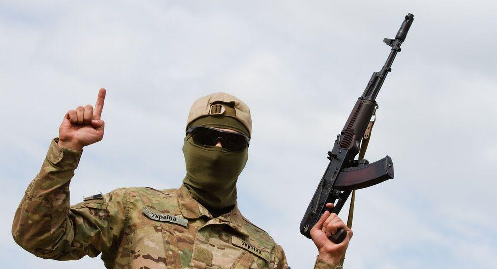 Un combattant ukrainien