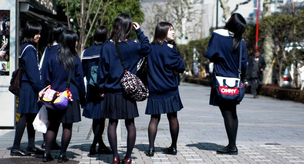 Les écolières japonaises