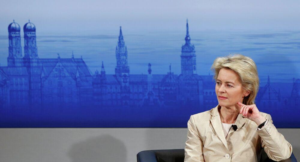 ministre allemande de la Défense Ursula von der Leyen