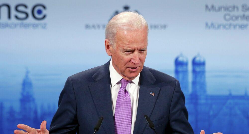 Le vice-président américain Joseph Biden