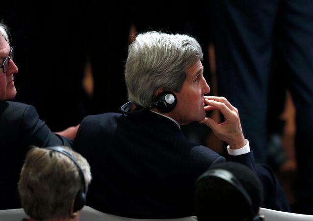 John Kerry, secrétaire d'État américain