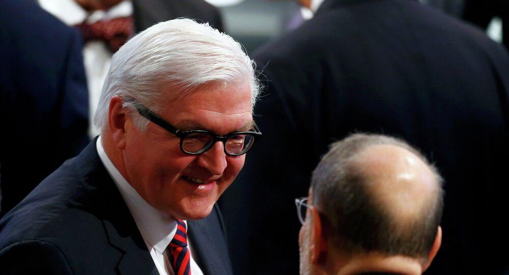 Ministe allemand des Affaires étrangères Frank-Walter Steinmeier