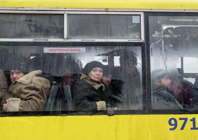 Un bus en Ukraine