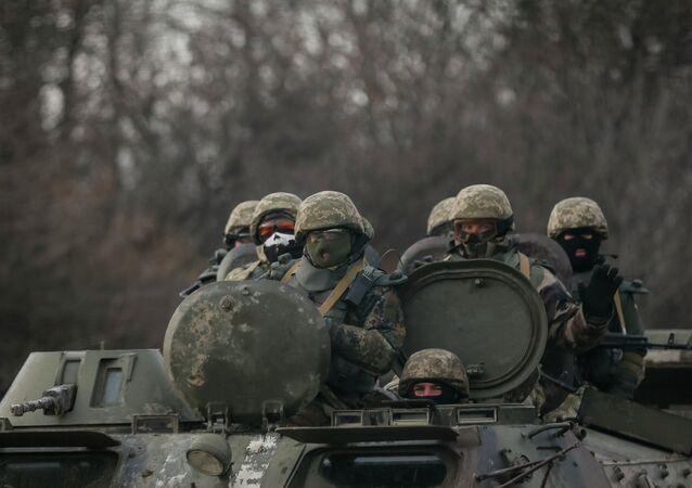 Armée ukrainienne dans le Donbass