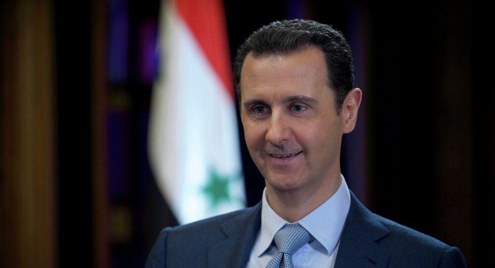Président syrien Bachar el-Assad
