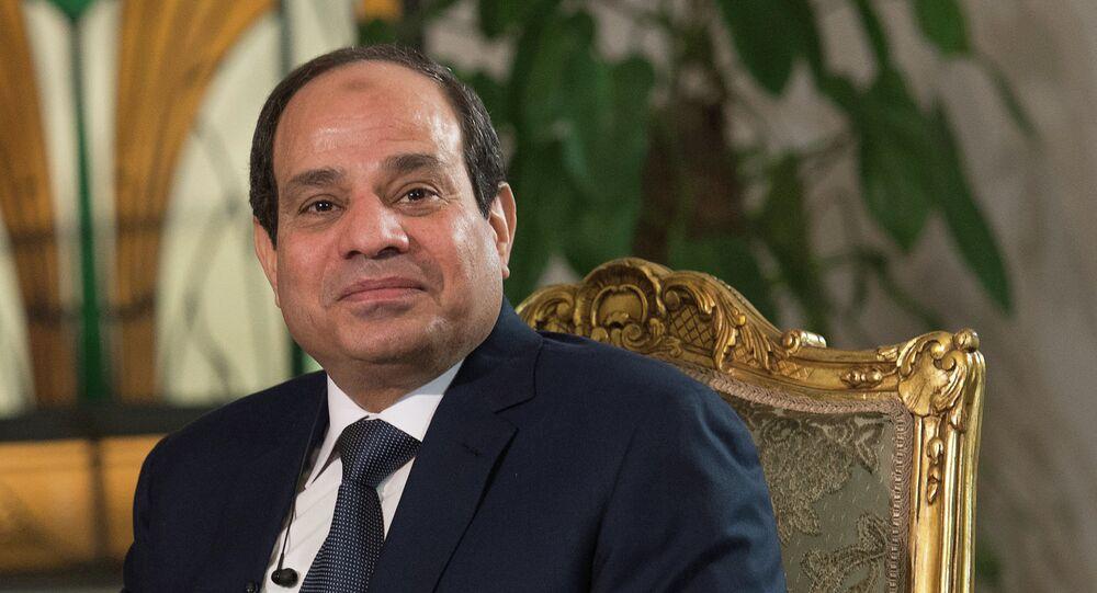 Le président égyptien Abdel Fattah al-Sissi