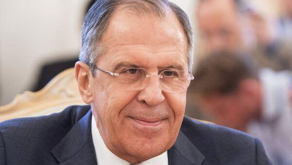 Министр иностранных дел Российской Федерации Сергей Лавров - Sputnik France
