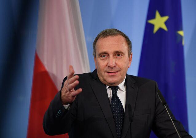 Ministre polonais des Affaires étrangères Grzegorz Schetyna