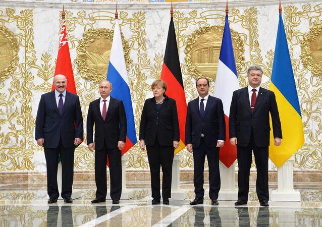 Sommet sur l'Ukraine à Minsk