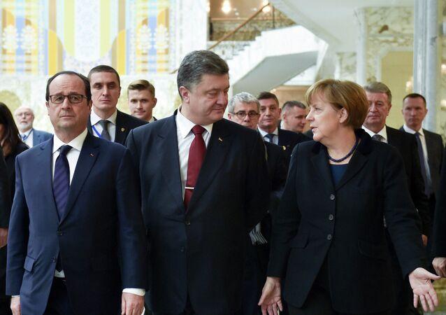 Sommet à Minsk sur l'Ukraine