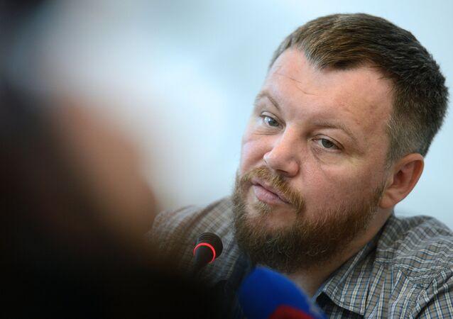 Un des dirigeants de DNR Andreï Pourguine