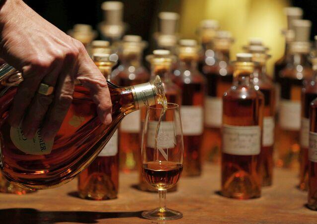 La distillerie Courvoisier à Cognac