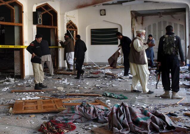 Après l'attentat perpétré contre une mosquée chiite de Peshawar