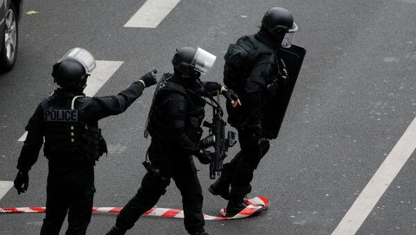 Members of the French national police intervention group - Sputnik France