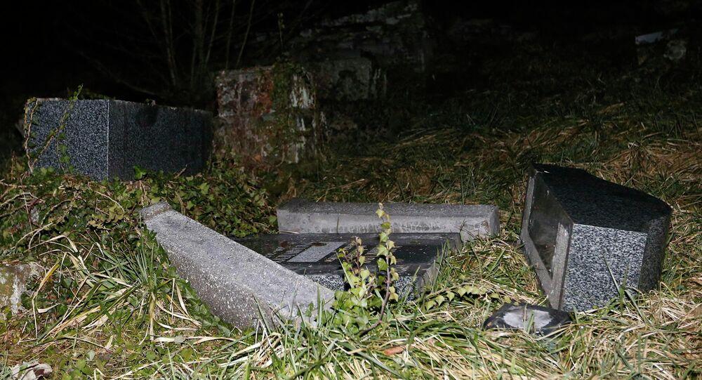 Tombes du cimetière juif de Sarre-Union