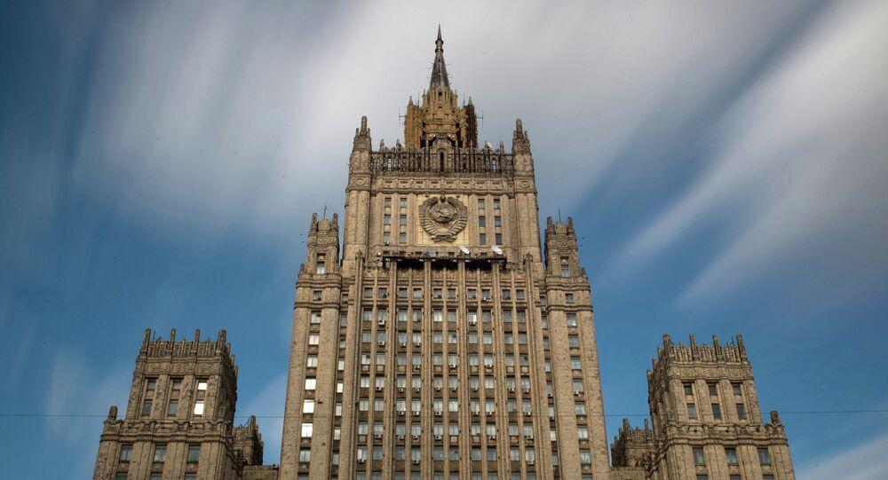 Bâtiment du ministère des Affaires étrangères russe