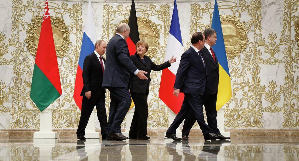 Négociations sur l'Ukraine à Minsk