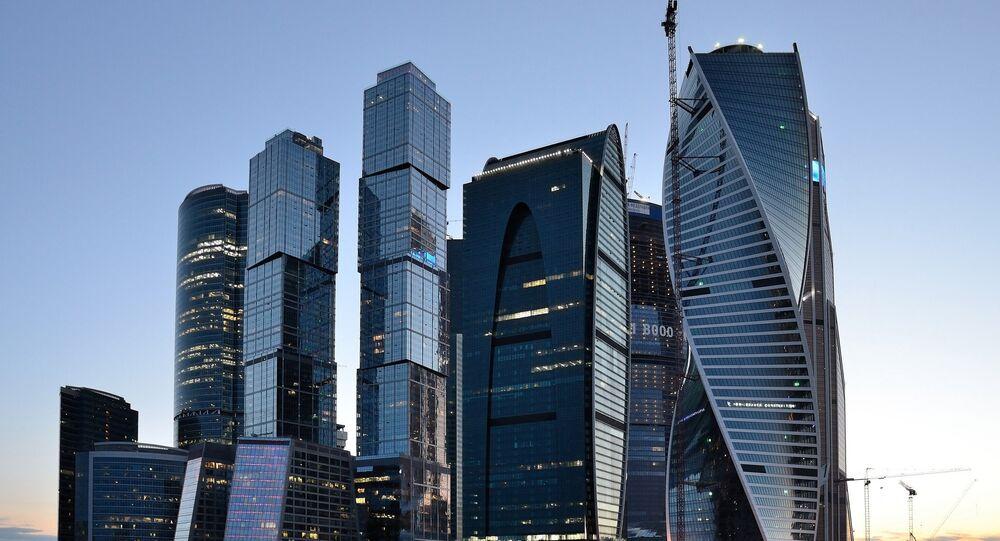 Les gratte-ciel du Centre de commerce international de Moscou (Moskva-City)