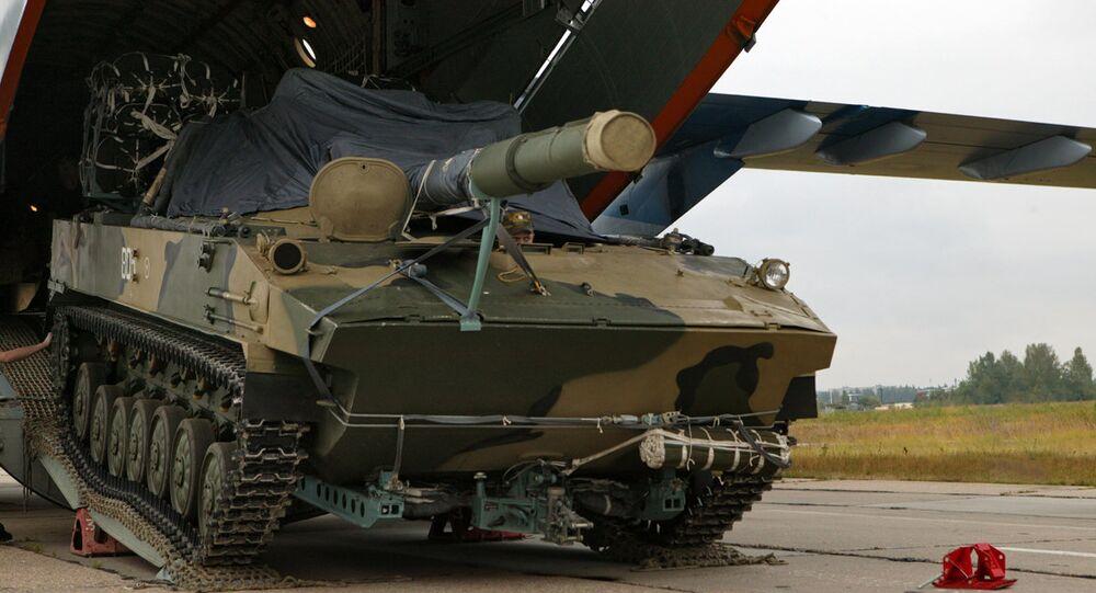 La technique russe militaire, region de Rostov (Archive photo)