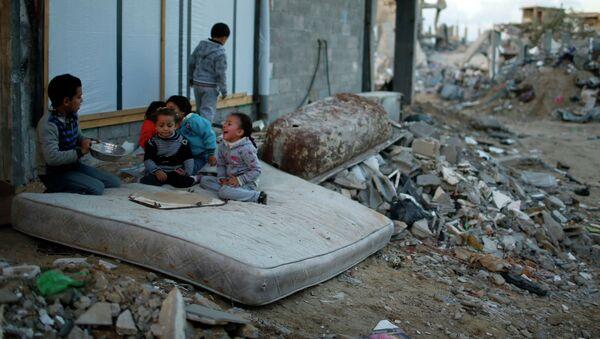 Palestinian children - Sputnik France