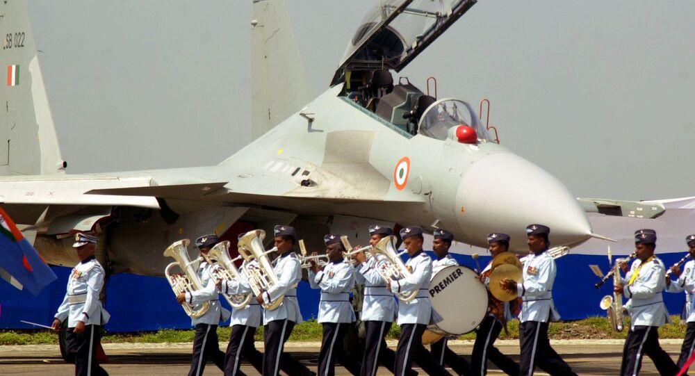Un Su-30 MKI en Inde