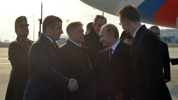 Визит президента РФ В.Путина в Венгрию - Sputnik France