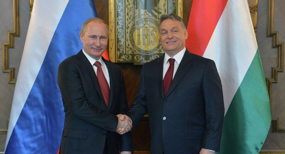 Vladimir Poutine et Viktor Orban