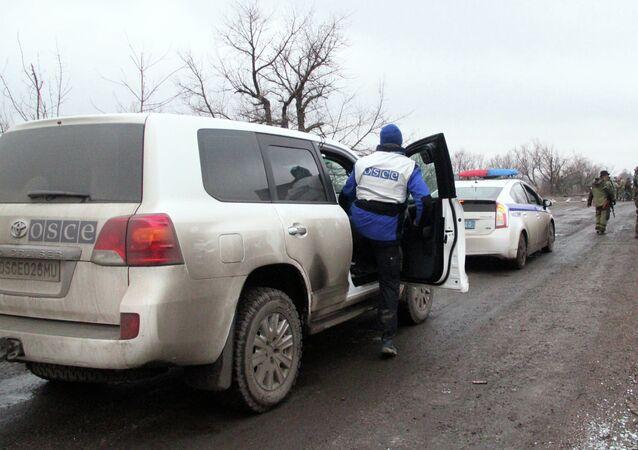 Les observateurs de l'OSCE