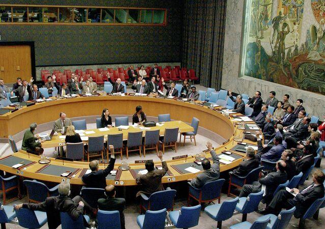 Conseil de sécurité de l'ONU. Archive photo
