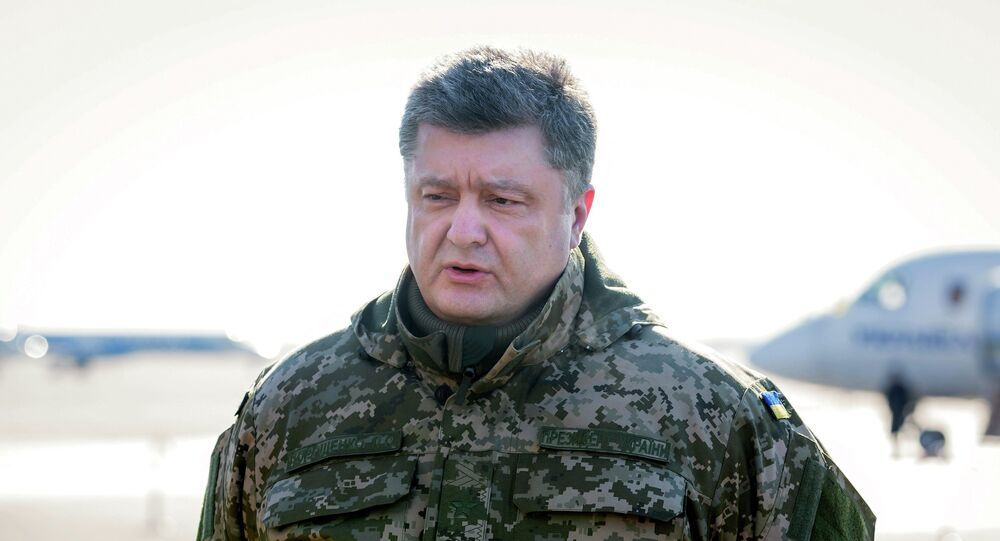 Ukraine's President Petro Poroshenko. Archive photo