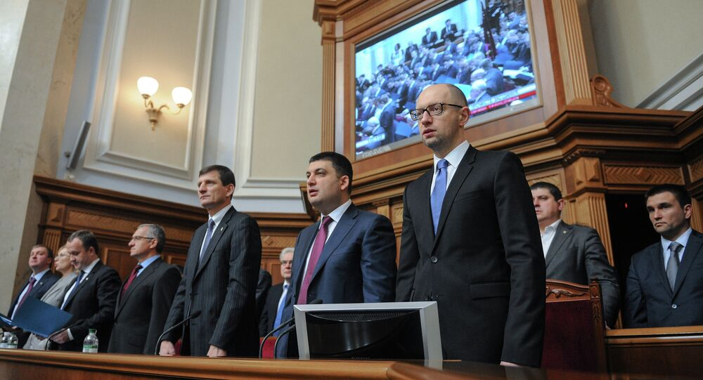 Ukraine: le peuple va balayer le gouvernement incapable, selon un opposant
