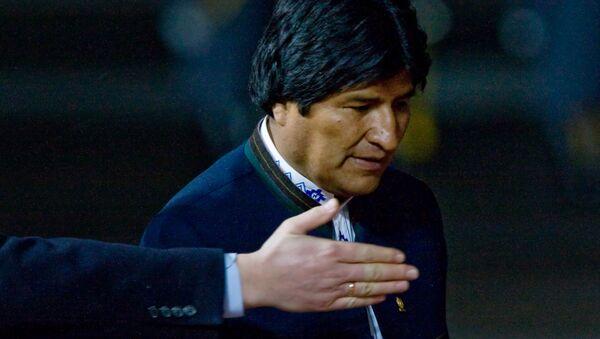 Bolivian President Evo Morales - Sputnik France