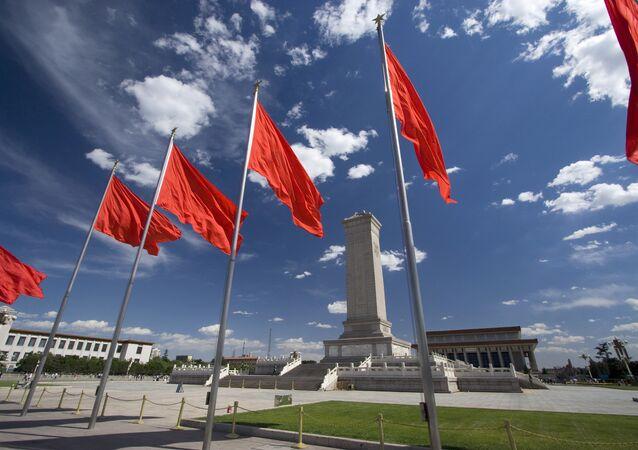 Place Tiananmen à Pékin