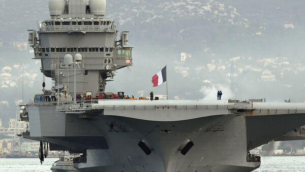 Porte-avions français Charles de Gaulle - Sputnik France