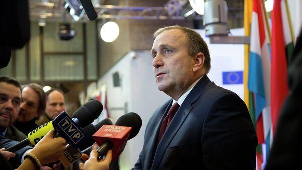 Polens Außenminister Grzegorz Schetyna - Sputnik France