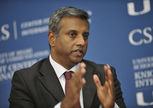 Salil Shetty, secrétaire général d'Amnesty international. Archive photo
