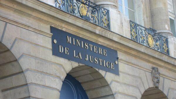 ministère de la Justice. - Sputnik France