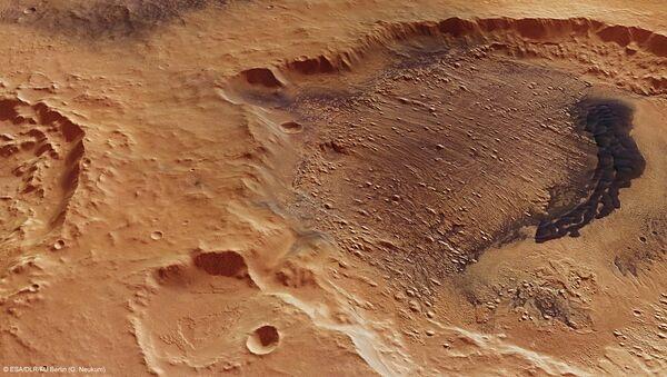 Mars Express captures Danielson crater - Sputnik France