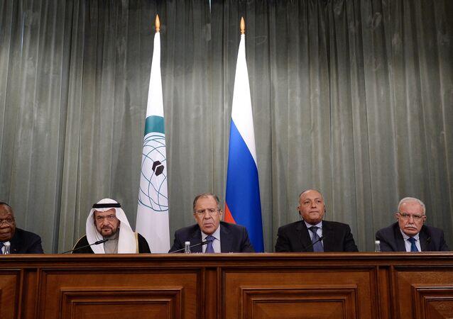 Réunion diplomatique à Moscou