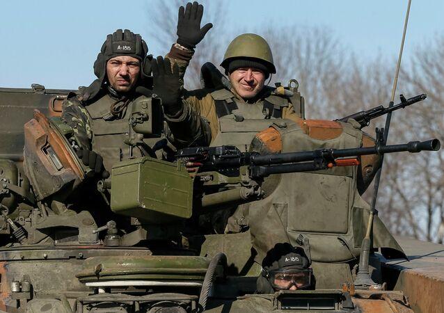 Des militaires ukrainiens près d'Artemovsk (Archives)