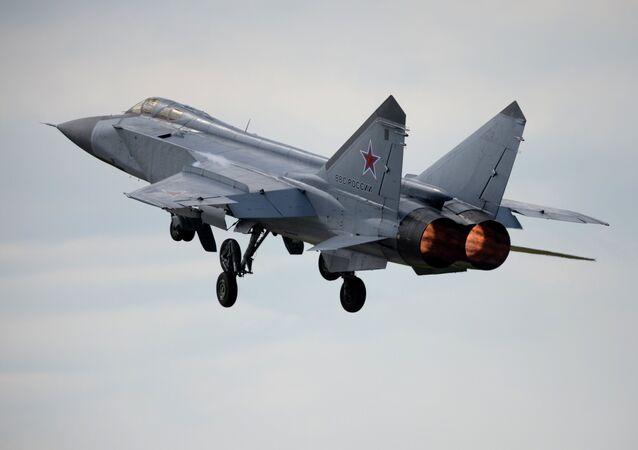 Un chasseur russe MiG-31