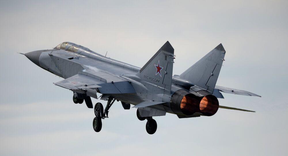 Un сhasseur russe MiG-31