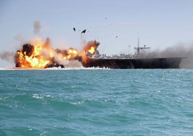 Exercices navals iraniens