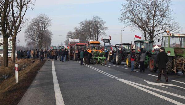 Протест польских фермеров - Sputnik France