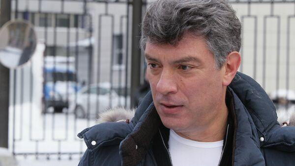 Борис Немцов вызван на допрос в Следственный комитет - Sputnik France