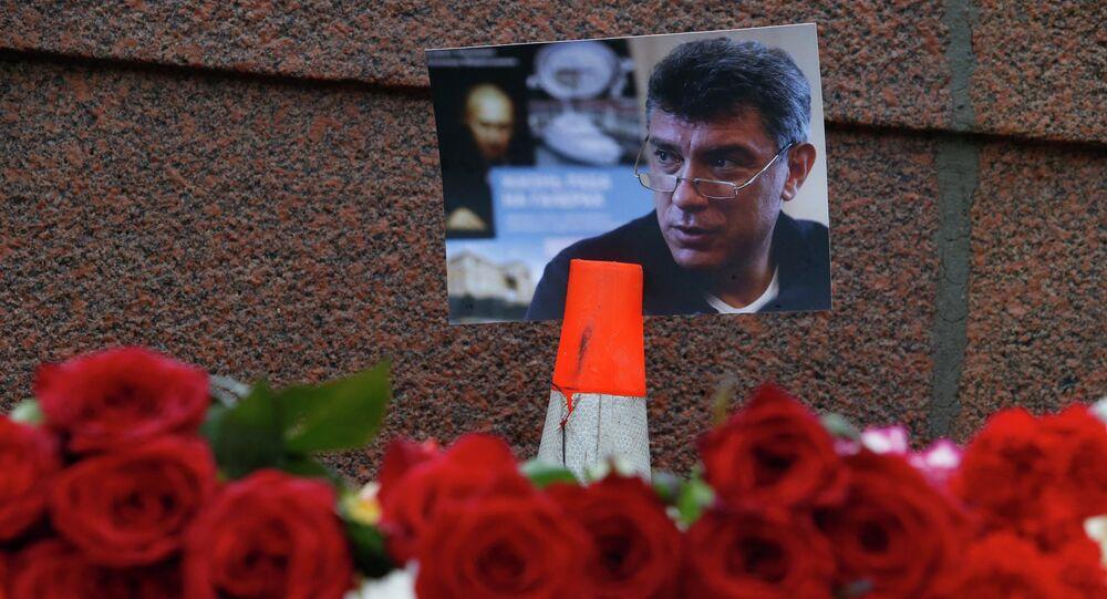 Le lieu de l'assassinat de Boris Nemtsov