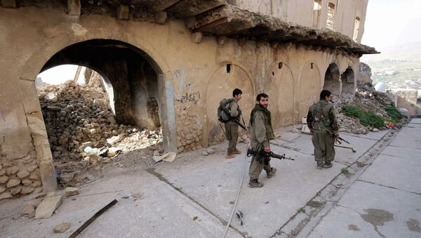 Militantes del Partido de los Trabajadores del Kurdistán (PKK) - Sputnik France