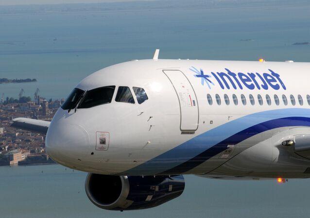 Un SSJ100 pour Interjet