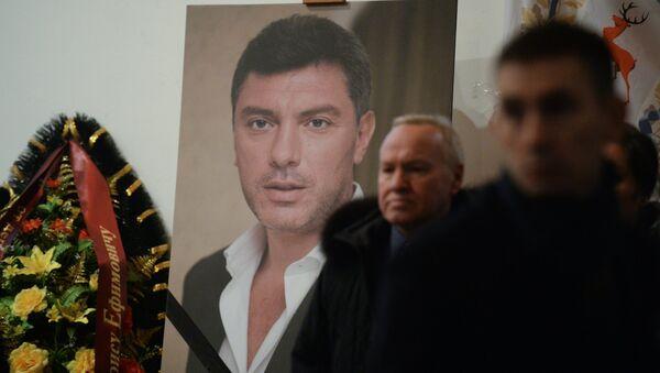 Les adieux à Boris Nemtsov à Moscou - Sputnik France