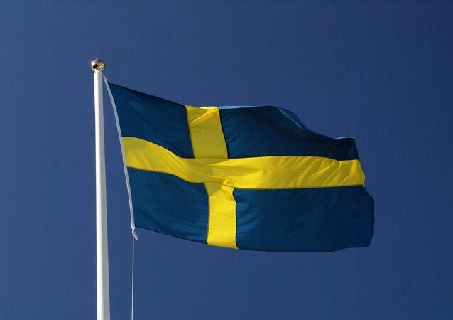 Le drapeau de la Suède